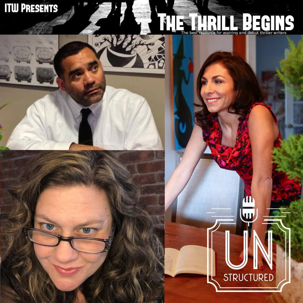 162 - EA Aymar, Shannon Kirk, and Wendy Tyson of The Thrill Begins - Unique wide-ranging and well-researched unstructured interviews hosted by Eric Hunley UnstructuredPod Dynamic Informal Conversations