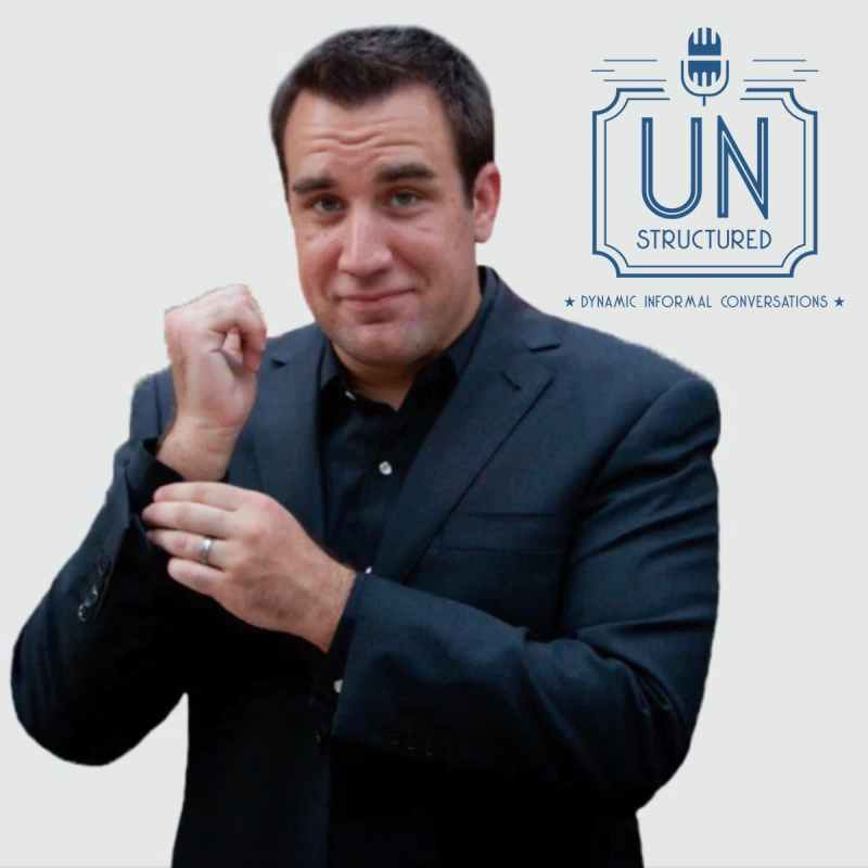 167 - David Burkus - Unique wide-ranging and well-researched unstructured interviews hosted by Eric Hunley UnstructuredPod Dynamic Informal Conversations