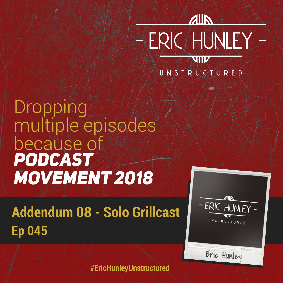 Eric Hunley Unstructured Podcast - 045 Solo Addendum 08 Square Post