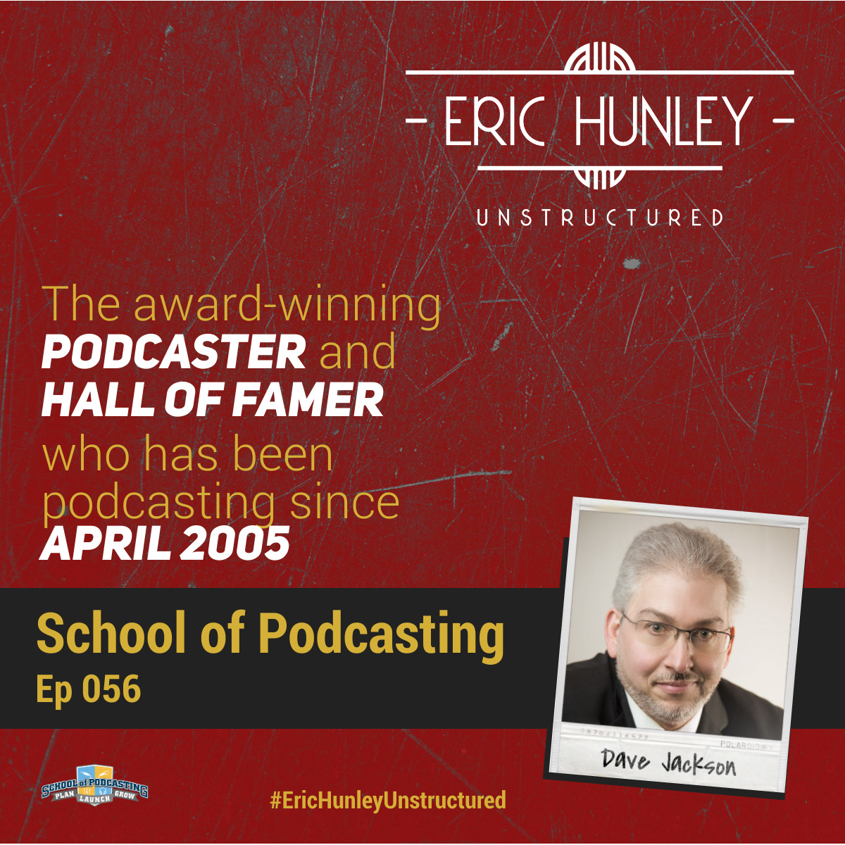 Eric Hunley Unstructured Podcast - 056 Dave Jackson Square Post