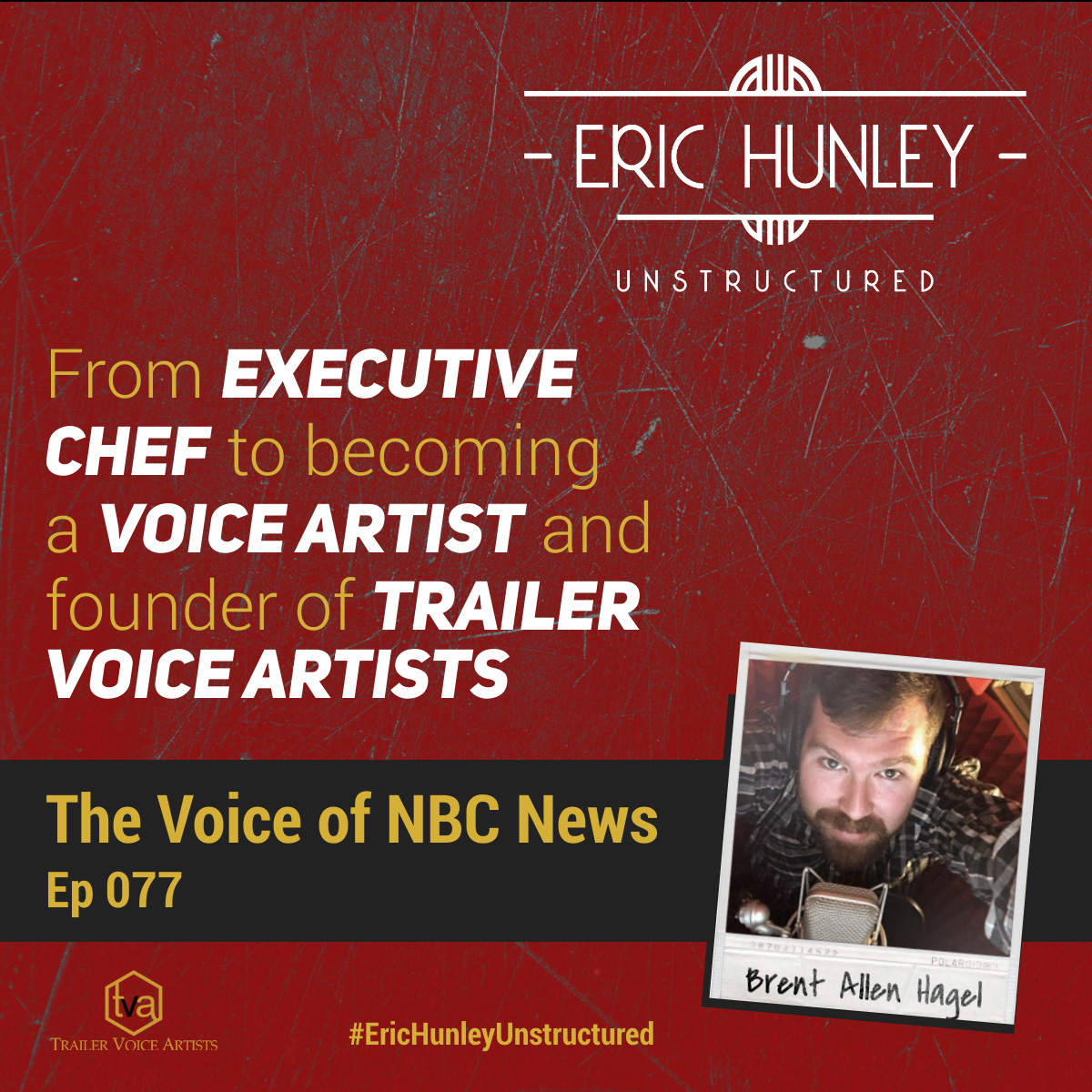 Eric Hunley Unstructured Podcast - 077 Brent Allen Hagel Square Post