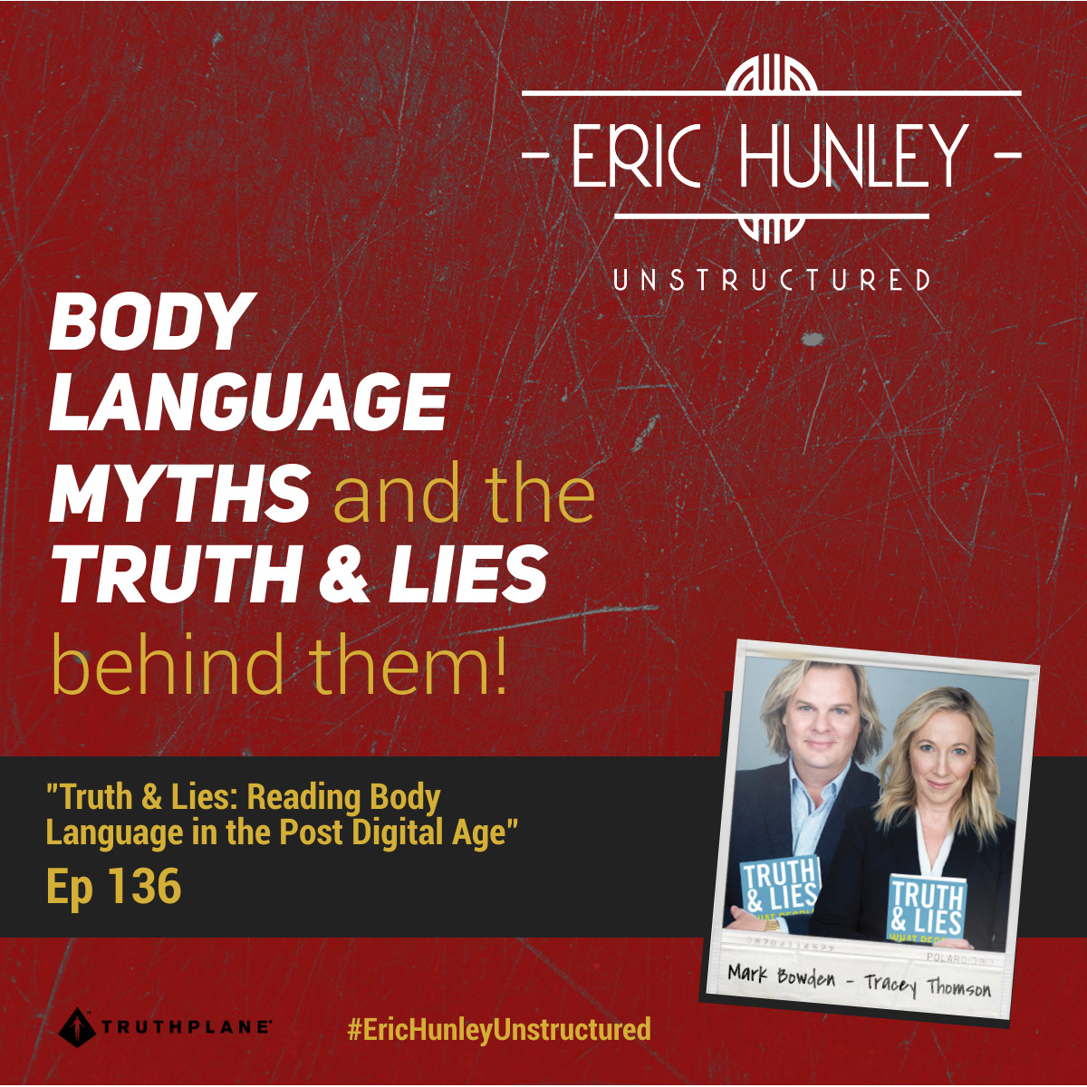 Eric Hunley Unstructured Podcast - 136 Mark Bowden & Tracey Thomson Square Post