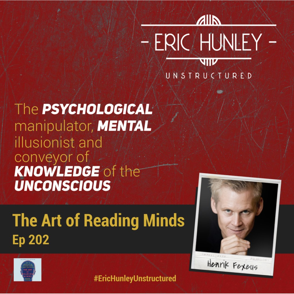 Eric Hunley Unstructured Podcast - 202 Henrik Fexeus Square Post