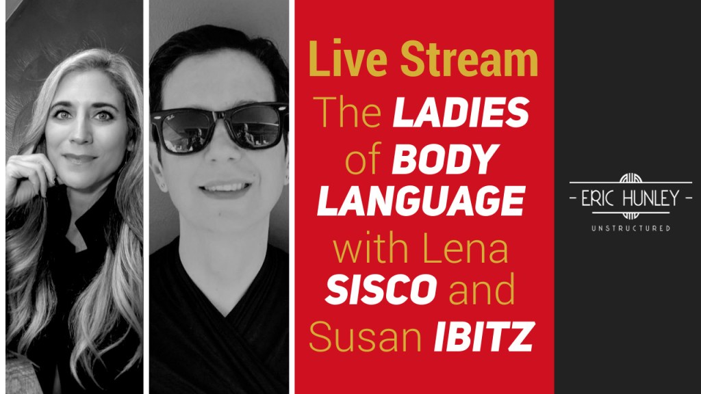 Eric Hunley Unstructured Live Stream Interviews - Lena Sisco and Susan Ibitz YouTube Thumbnail