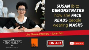 Eric Hunley Unstructured Live Stream Interviews - Susan Ibitz Face YouTube Thumbnail