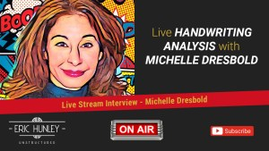 Eric Hunley Unstructured Live Stream Interviews - Michelle Dresbold YouTube Thumbnail