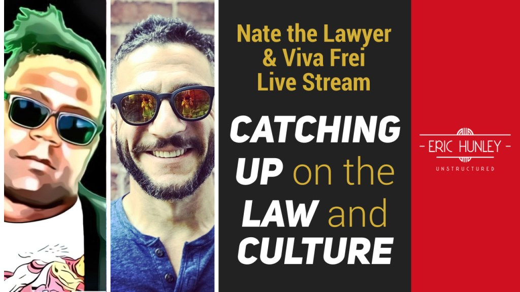 Eric Hunley Unstructured Live Stream Interviews - Viva and Nate YouTube Thumbnail
