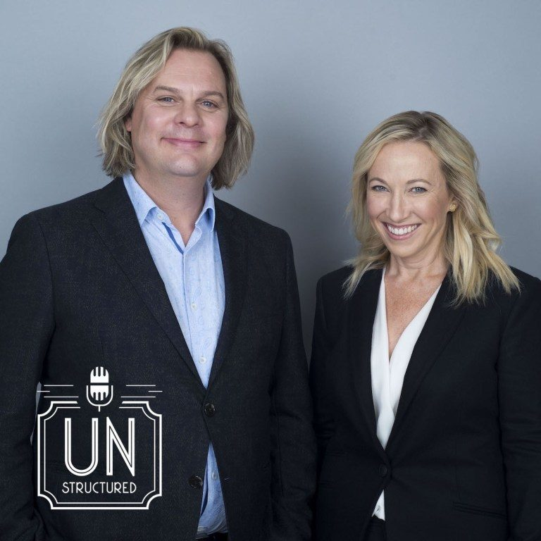 136 - Mark Bowden & Tracey Thomson UnstructuredPod Unstructured interviews - Dynamic Informal Conversations with unique wide-ranging and well-researched interviews hosted by Eric Hunley