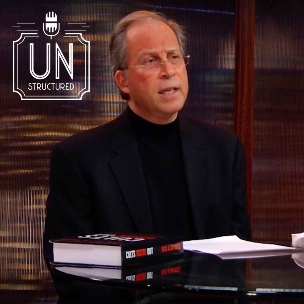161 - Rick Alan Ross - Unique wide-ranging and well-researched unstructured interviews hosted by Eric Hunley UnstructuredPod Dynamic Informal Conversations