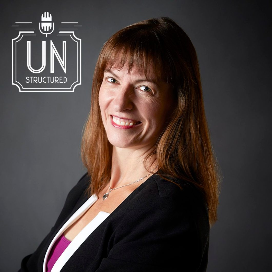 139 - Susan Goebel UnstructuredPod Unstructured interviews - Dynamic Informal Conversations with unique wide-ranging and well-researched interviews hosted by Eric Hunley