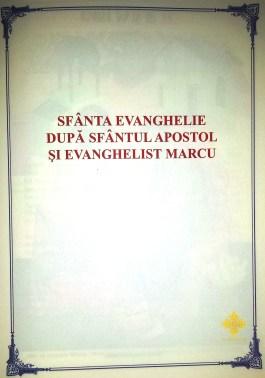 Sfanta Evanghelie dupa Sfantul Apostol si Evanghelist Marcu - unsufletortodox