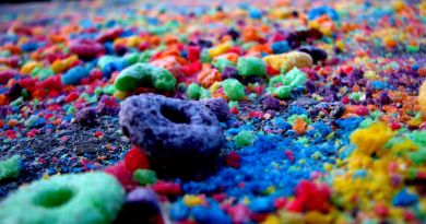 froot loops on the path