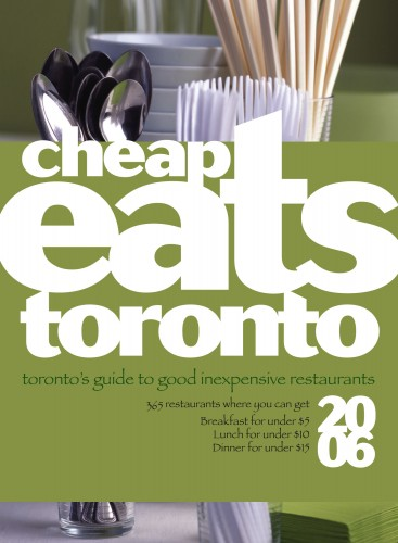 CheapEats Toronto 2006