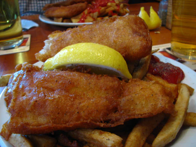 Fish & Chips at the Pilot House - Where to Eat in Kingston Ontario