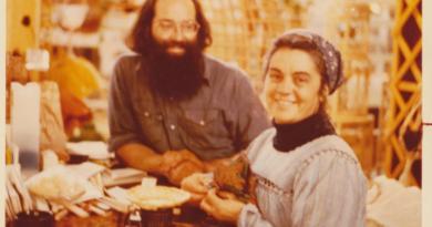 Marilynn Fox & Jim Clark at the Market Basket, Saint john City Market, circa 1976