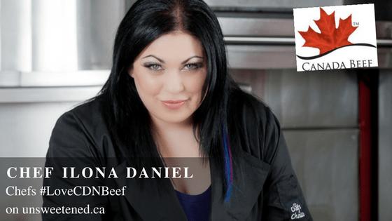 Chef Ilona Daniel in Chef's Love Canadian Beef