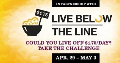 Live Below The Line Challenge-banner
