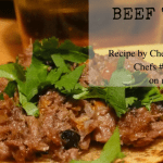 Chef Jesse Vergen's Beef Tongue Tacos