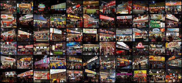 CNE Food Building Food Vendors