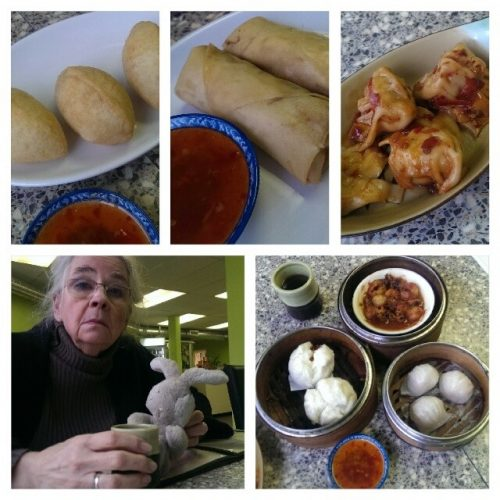 Dim Sum Kingston with Mom and Travel Bunny