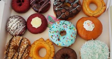 Fat Tuesday Doughnuts from Jupiter Donuts