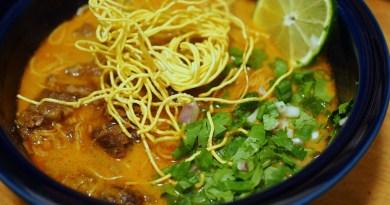 Khao Soi Noodle Soup Recipe - #ONCornFedBeef