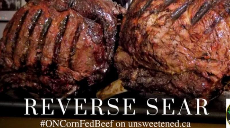 Reverse Sear Prime Rib – Ontario Corn Fed Beef