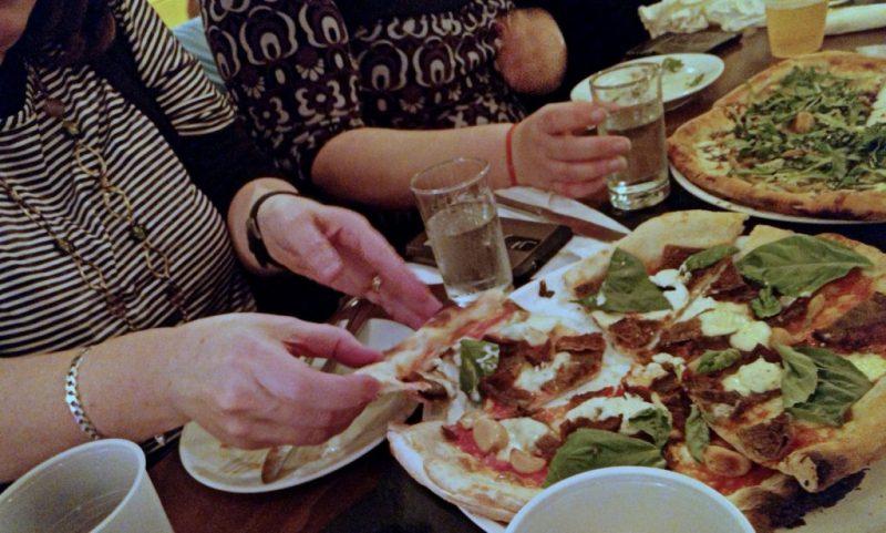 Pizza at Rustico Pizza Vino - LetsGoMaple