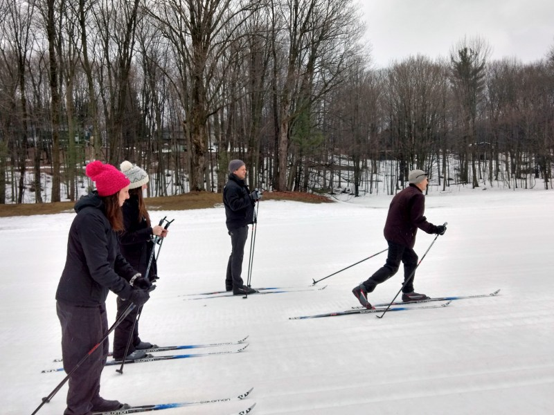 cross country skiing at Horseshoe resort (1)