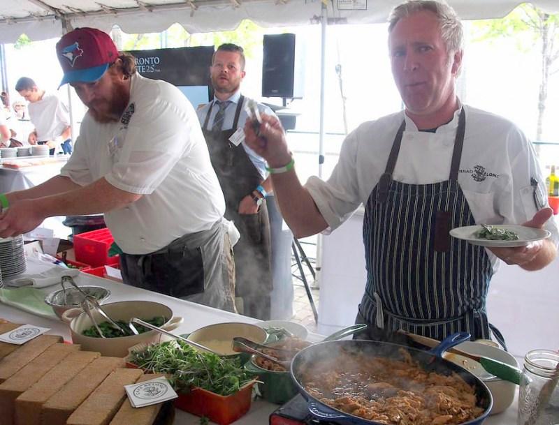 Chef Brad Long of Cafe Belong at Toronto Taste 2015