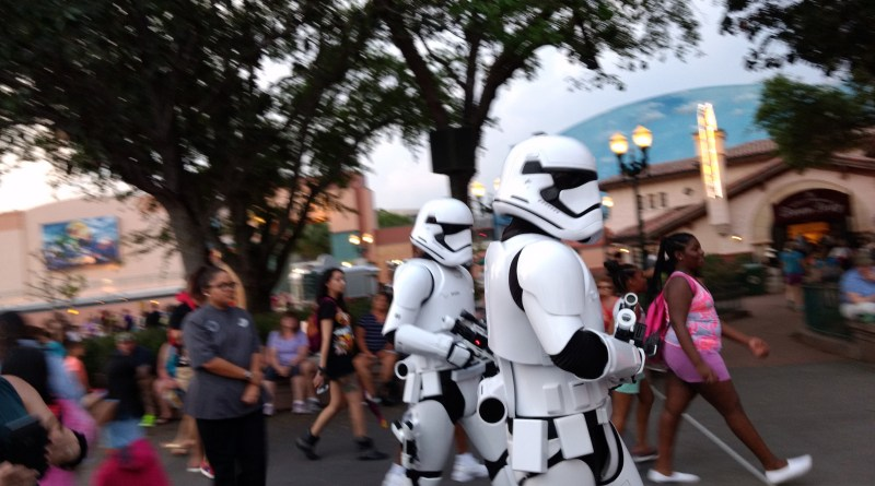 Stormtroopers at A Galactic Spectacular Dessert Party at Disney's Hollywood Studios