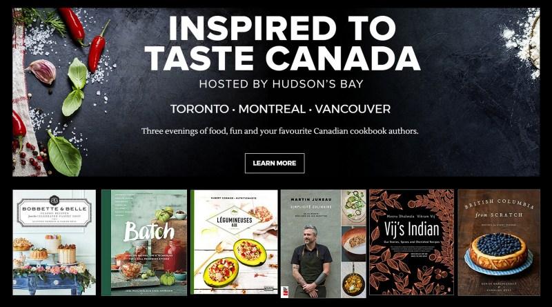 HBC Inspired to Taste Canada