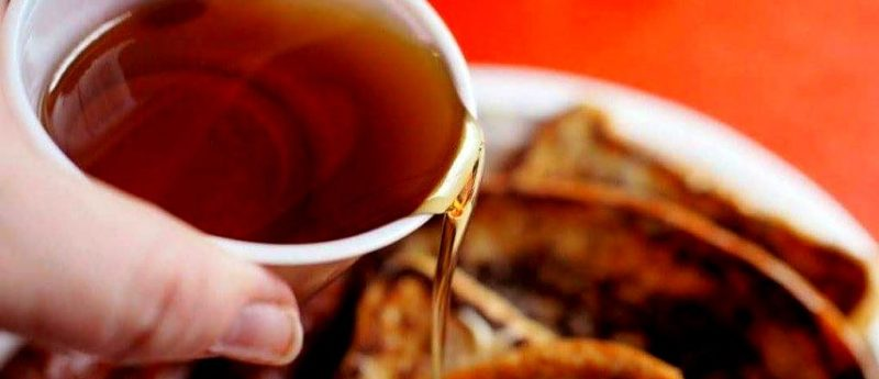 don't waste maple syrup