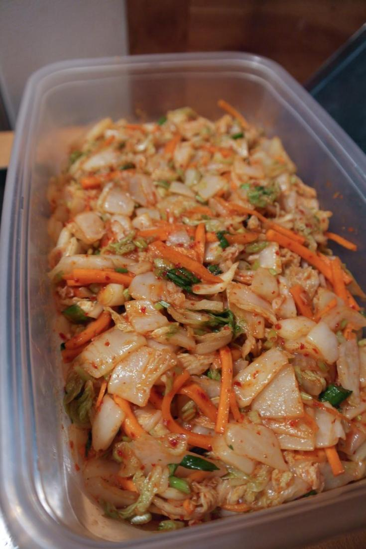 Chef Ilona's Korean-Style Kimchi