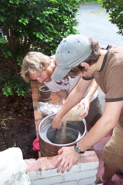 Memorial Day 2009 Brew Mash