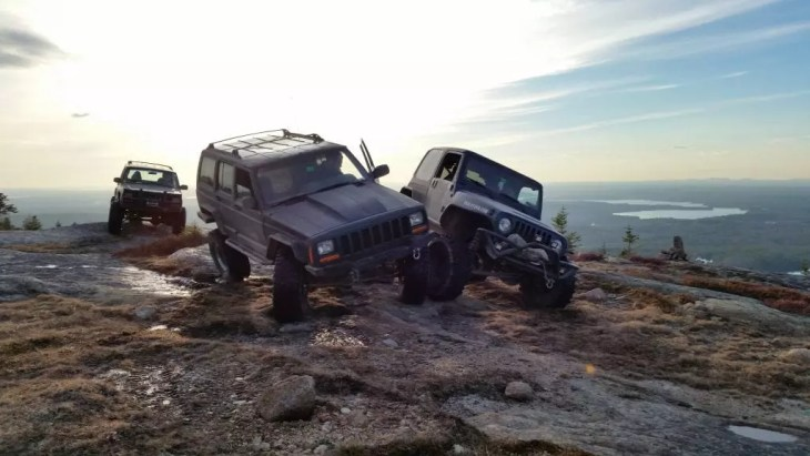 Maine off road 4x4 and Jeep trails.