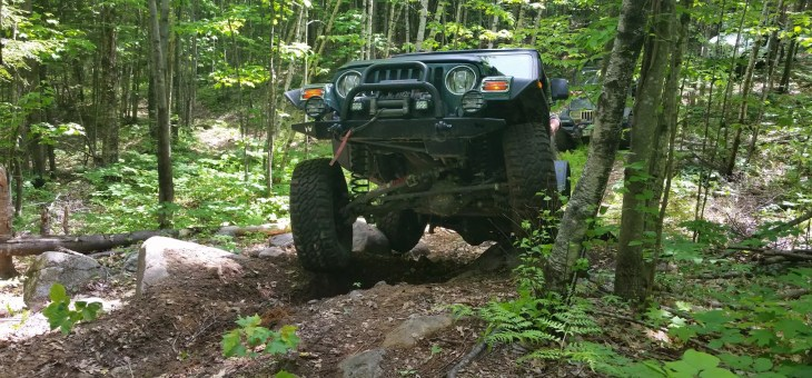 Jeep Clubs and 4×4 Off-Road Trails in Maine