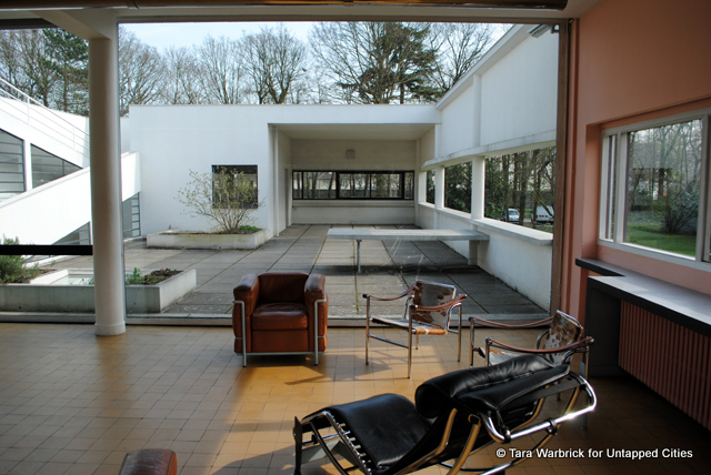 height of kitchen bench country decor themes the villa savoye : a modern master's manifesto realised ...