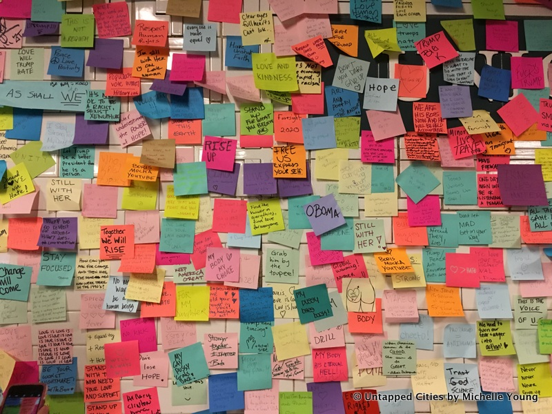 subway therapy post it