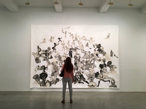 Drawing With Unforgiving Harsh Pen Kara Walker Opens Show In Chelsea Nyc Untapped Cities