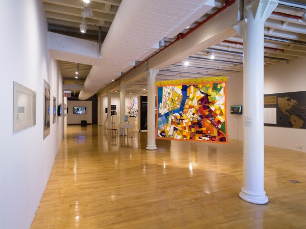 NYC Art Galleries Map