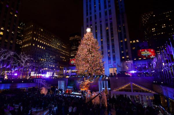 Photos The 2018 Rockefeller Center Christmas Tree