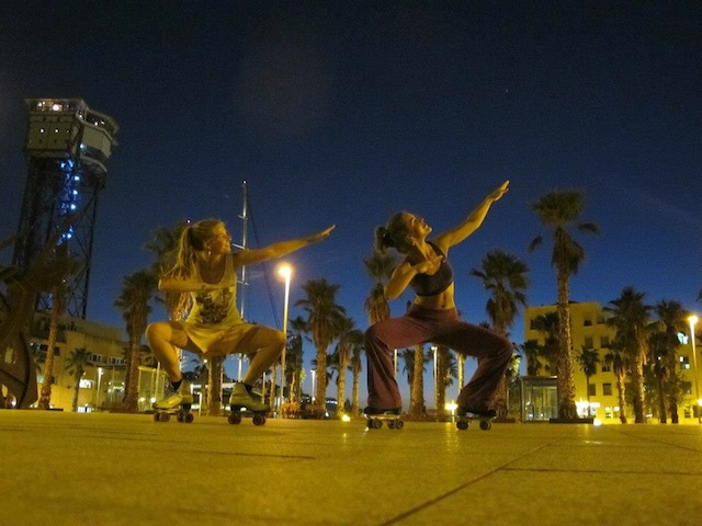 Medeleine Waalkens Leonie Hoebe  Roller Dancer: Barcelona