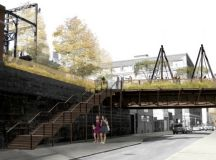 "Renderings of the Reading Viaduct, a ""High Line"" Park for ..."