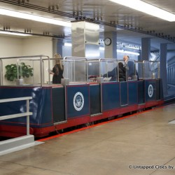 Behind the Scenes at the US Capitol Subway System in Washington D.C.