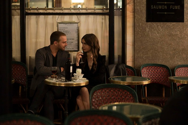 Emily and Thomas at Cafe de Flore