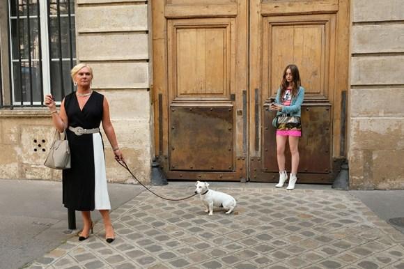 Emily in Paris front door of apartment