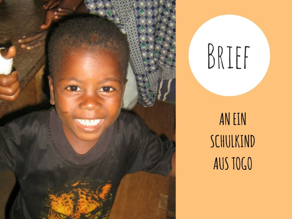 Brief an ein Kind in Afrika