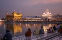Abendstimmung am goldenen Tempel