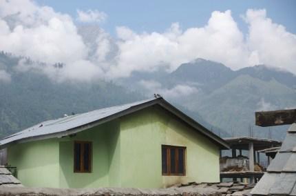 In den indischen Alpen